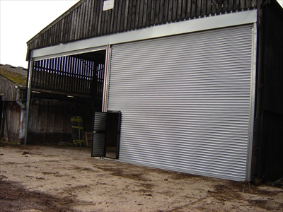 Roller Shutter Doors Installation For Trevor Cook In Bramley